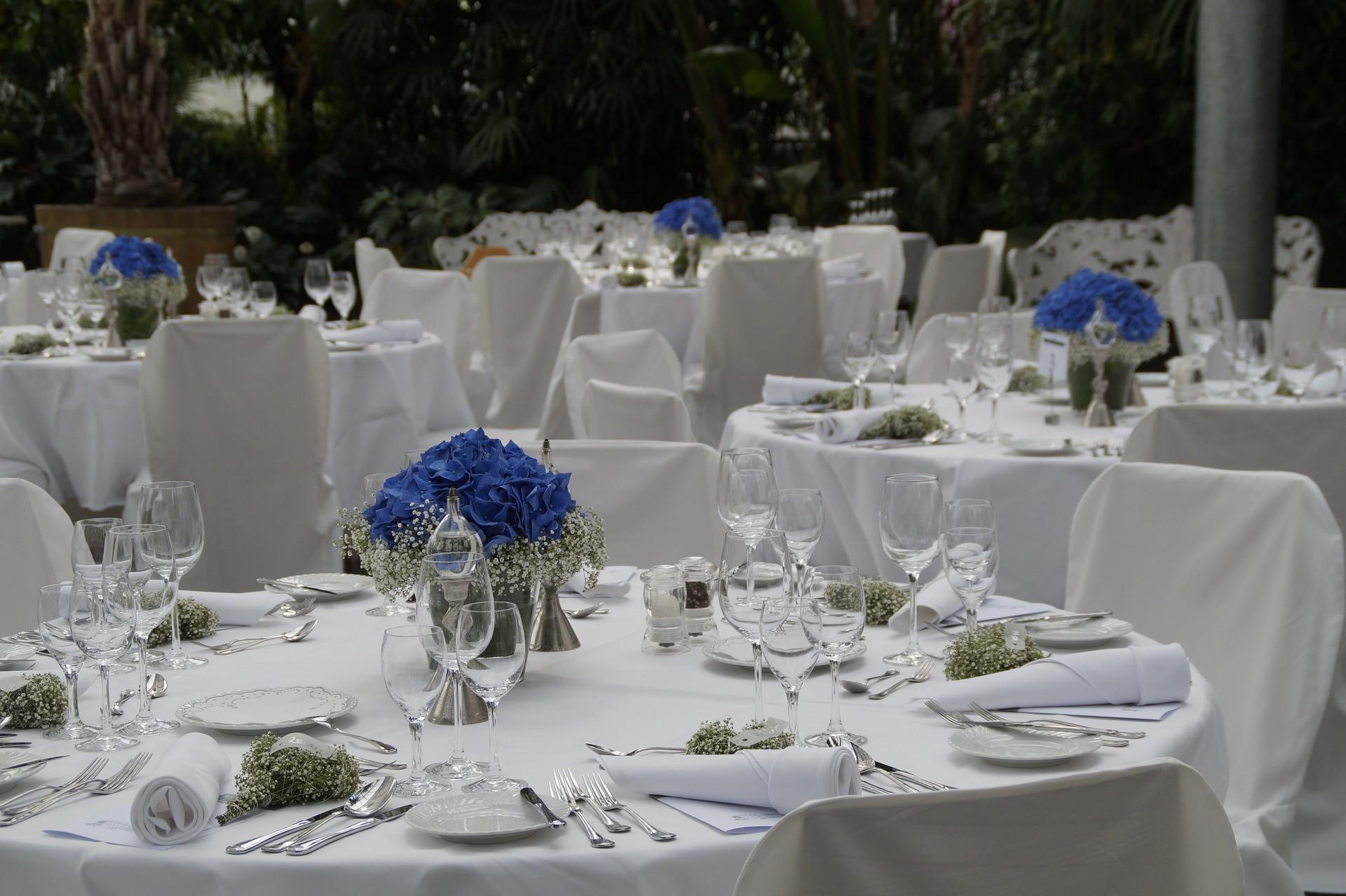 Location für den Hochzeitsempfang